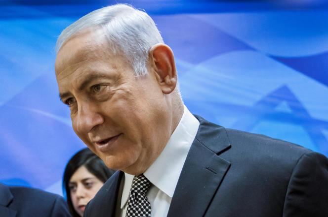 Le premier ministre israélien, Benyamin Nétanyahou, le 4 février, à Jérusalem