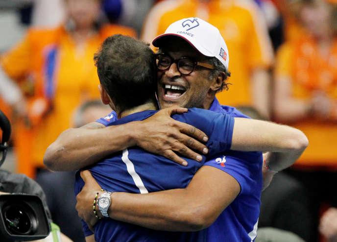 La France est en quart de finale de Coupe Davis, grâce à la victoire décisive d'Adrian Mannarino
