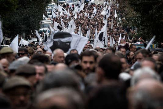 Des milliers de personnes participent à une manifestation populaire le 3 février à Ajaccio.