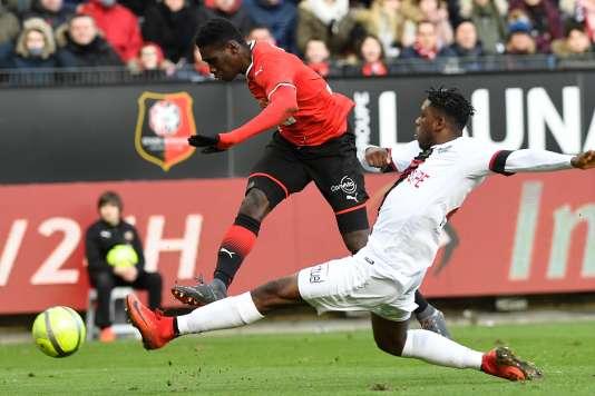 Guingamp a battu (1-0) Rennes, dimanche, lors de la 24e journée de Ligue 1.