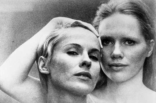 Bibi Andersson et Liv Ullmann dans« Persona», d'Ingmar Bergman.