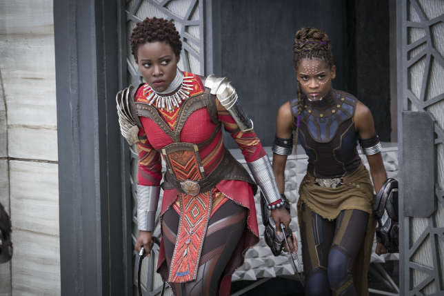 Les Dora Milaje, des guerrières de premier plan qui protègent le roi du Wakanda.
