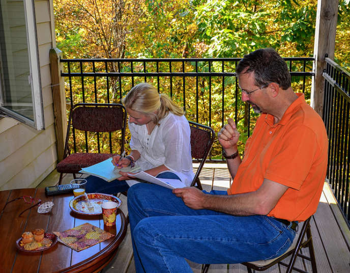 La préparation d'un étudiant à concours a souvent un impact sur toute sa famille.