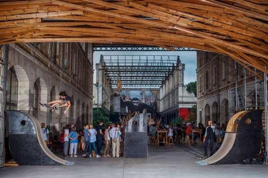 Ce grand « skate park» estaujourd'hui menacé par les projets de Bordeaux Métropole.
