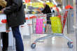 People do their shopping at an Auchan supermarket in Faches-Thumesnil on December 6, 2012. AFP PHOTO PHILIPPE HUGUEN / AFP PHOTO / PHILIPPE HUGUEN