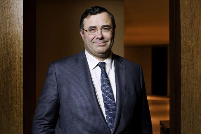 Patrick Pouyanné, PDG du groupe Total, en janvier 2015.