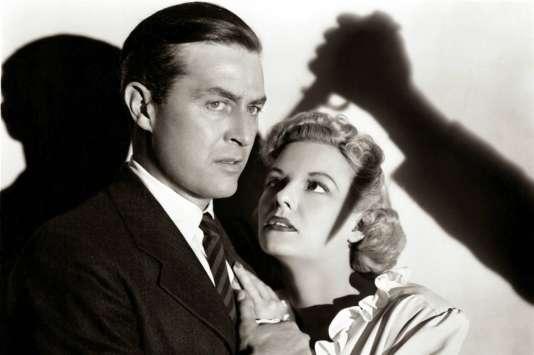 Ray Milland etMarjorie Reynolds dans«Espions sur la Tamise» («Ministry of Fear»), de Fritz Lang (1944).