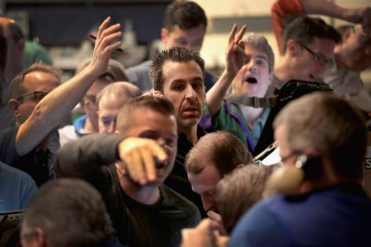 L'Indice boursier S&P 500 à Chicago, le 6 février.