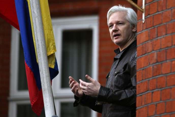 Julian Assange n'est pas sorti de l'ambassade équatorienne de Londres depuis plus de cinq ans.