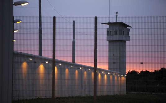 Le centre pénitentiaire de Nancy-Maxéville en juin 2009.