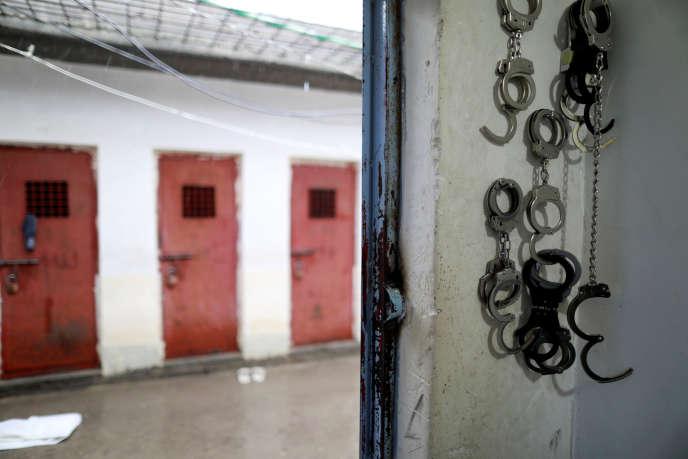 ASouleimaniyé, en Irak, dans une prison regroupant des djihadistes de l'organisation Etat islamique.