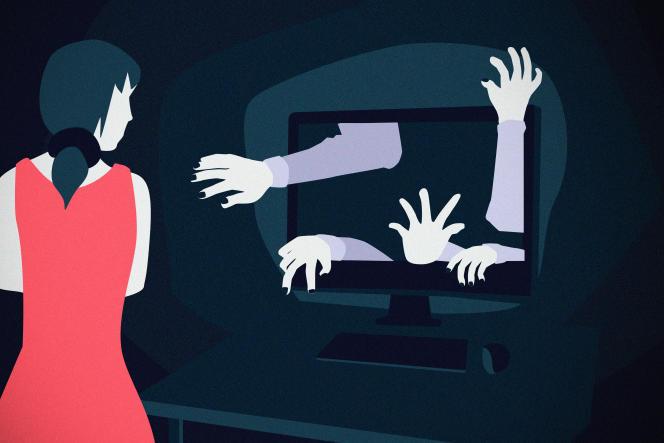 Les femmes sont régulièrement la cible de campagnes de harcèlement en ligne.