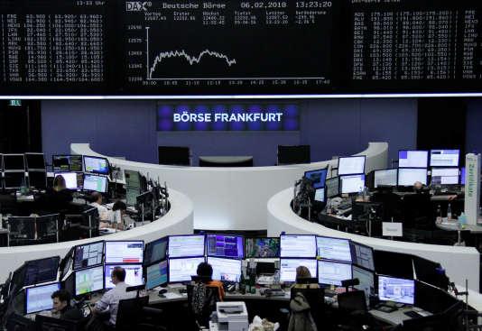 La collecte des ETF spécialisés dans les actions européennes (ici la Bourse de Francfort) a été deux fois plus importante que celle des produits ciblant les actions américaines.