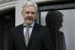 Julian Assange vit depuis 2012 dans l'ambassade équatorienne de Londres.