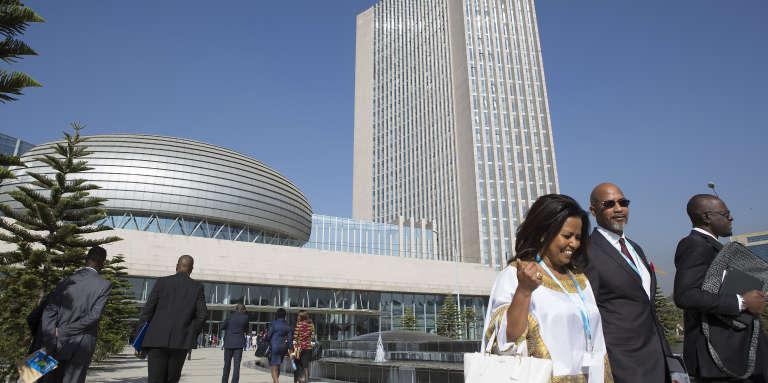 Le siège de l'Union africaine, à Addis-Abeba.