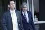 Le PDG de Waymo, John Krafcik, à sa sortie de la cour fédérale de San Francisco (Californie), le 5 février.