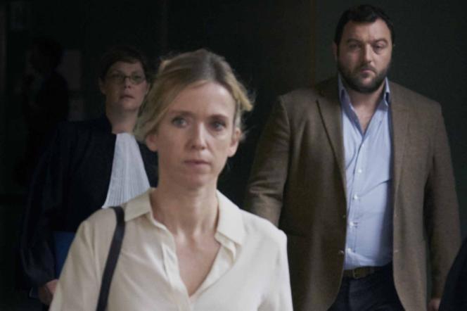 Léa Drucker etDenis Ménochet dans« Jusqu'à la garde», de Xavier Legrand.