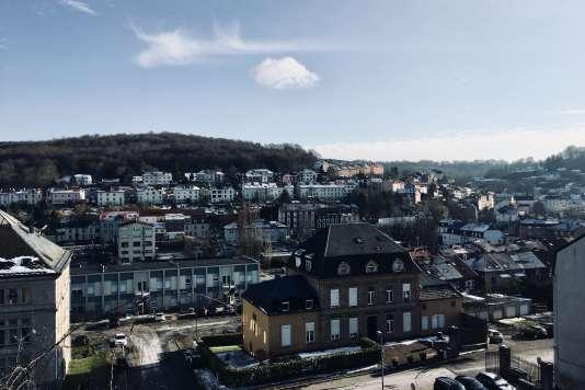 La commune de Villerupt, en Meurthe-et-Moselle.