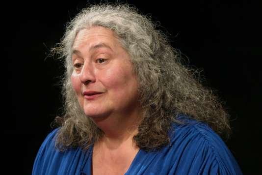 La conteuse Catherine Zarcate.
