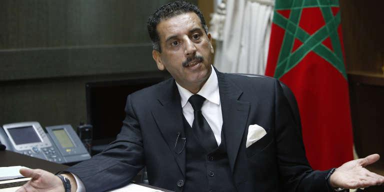 Abdelhak Khiame, chef du Bureau central des investigations judiciaires, à Salé, le 5 janvier 2016.