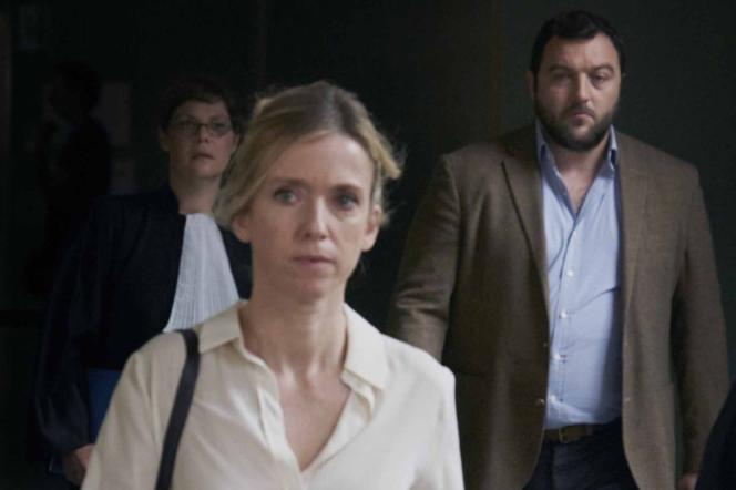 Léa Drucker etDenis Ménochet, tous les deux nommés aux Césars 2019, dans« Jusqu'à la garde», de Xavier Legrand, également nommé.