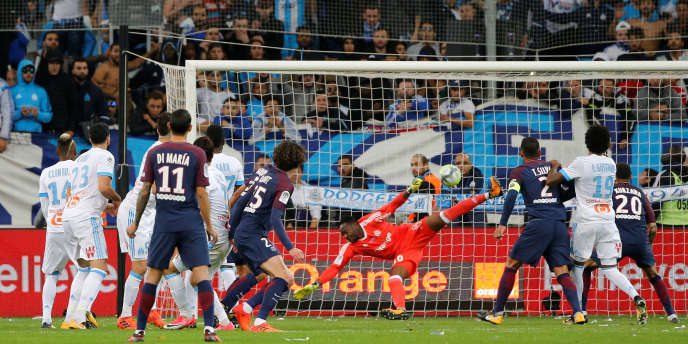 La rencontre entre l'Olympique de Marseille et le Paris-Saint-Germain du 22 octobre 2017 est le match qui détient le record de mises pour un match français.