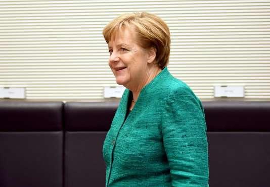 Angela Merkel, à Berlin, le 7 février 2018.