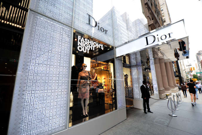 Un magasin Dior à New York, le 6 septembre 2012.
