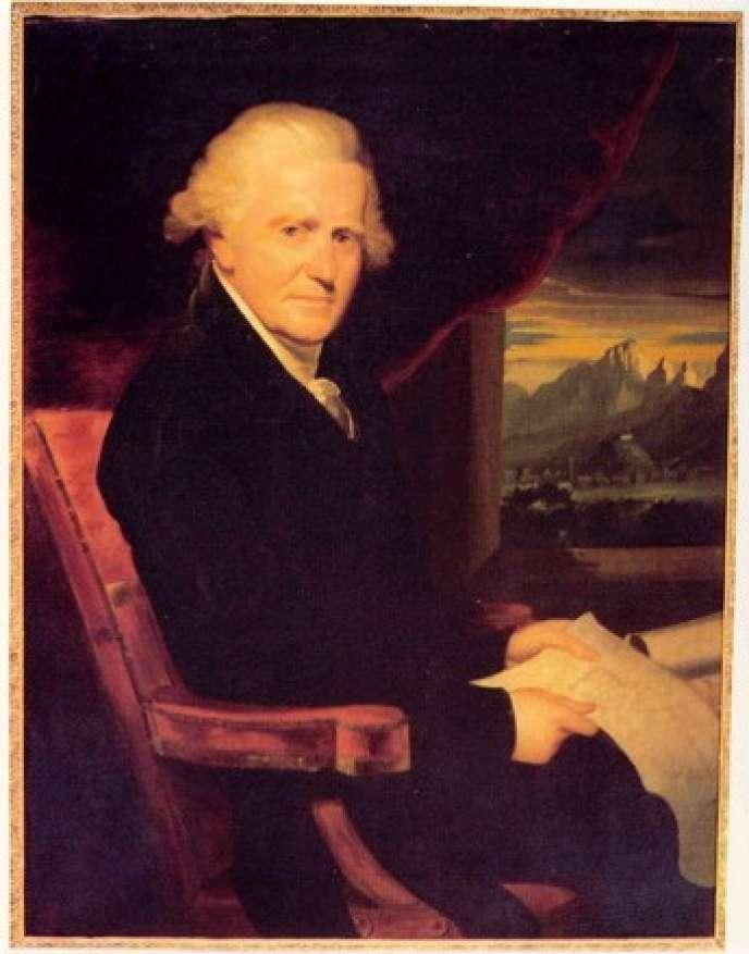 Le général et homme politique corse Pascal Paoli vers 1810, portrait de William Beechey.