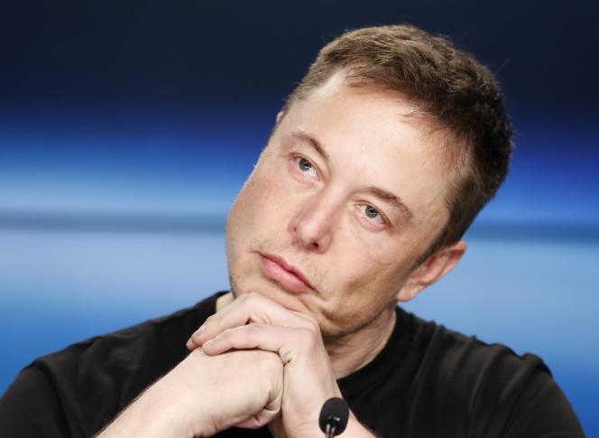 Elon Musk le 6 février 2018.