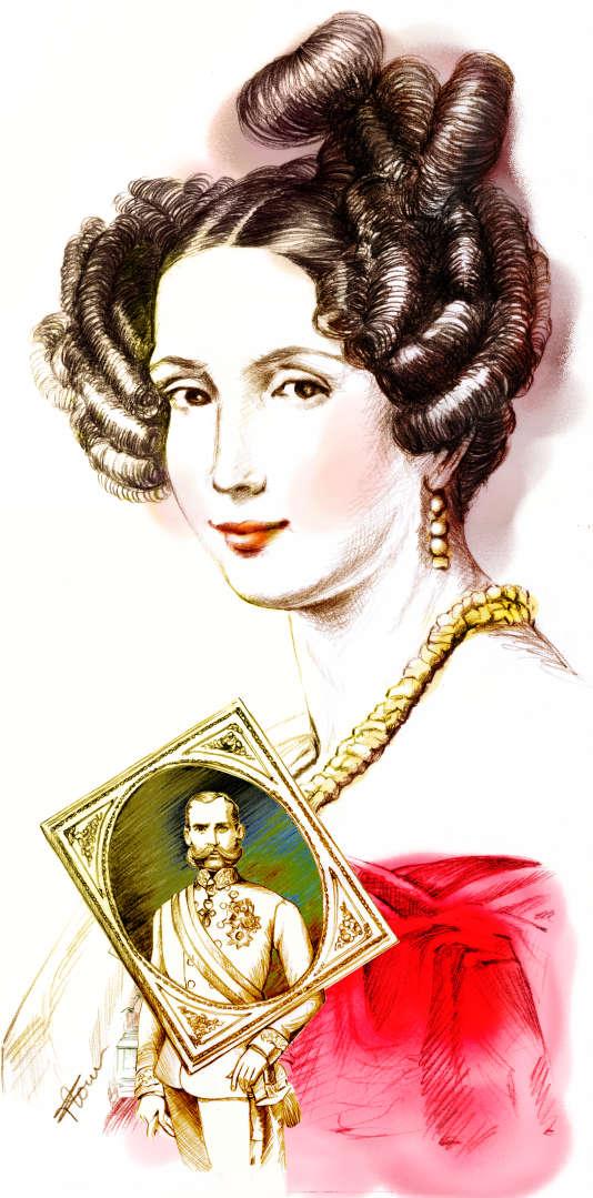 Sophie de Wittelsbach, archiduchesse d'Autriche.