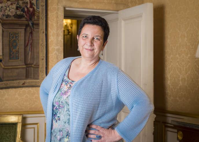 Frédérique Vidal, ministre de l'enseignement supérieur, à Matignon, le 29 octobre 2017.