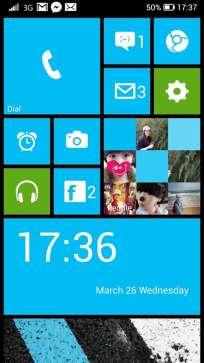 Launcher 8 déguise un mobile Android en Windows Phone