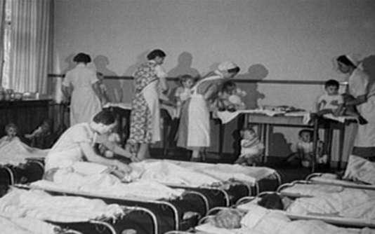 Un Lebensborn, en 1944.