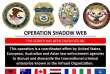 Plusieurs pays ont contribué à cette vaste opération.