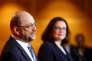 Martin Schulz et Andrea Nahles, le 7 février 2018.