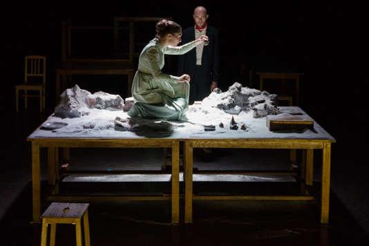 «Pauvreté, richesse, homme et bête», de Hans Henny Jahnn, mis en scène parPascal Kirsch au Théâtre de Gennevilliers.