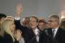 Nicos Anastasiades, à Nicosi le 4 février, après sa réélection comme président de de la République de Chypre.