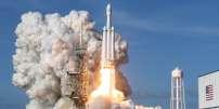 Le lancement de Falcon Heavy à Cap Canaveral, en Floride, le 6 février.