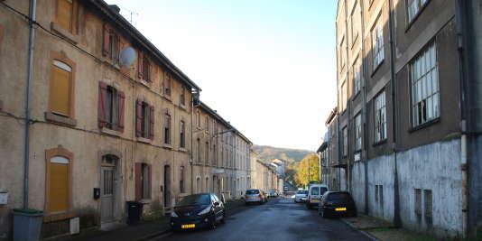 Des maisons d'une cité ouvrière, à Villerupt (Meurthe-et-Moselle).