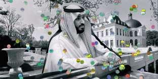 Mohammed Ben Salman, le prince saoudien, mystérieux propriétaire du château, dont l'identité a été révélée en décembre 2017 par le New York Times.