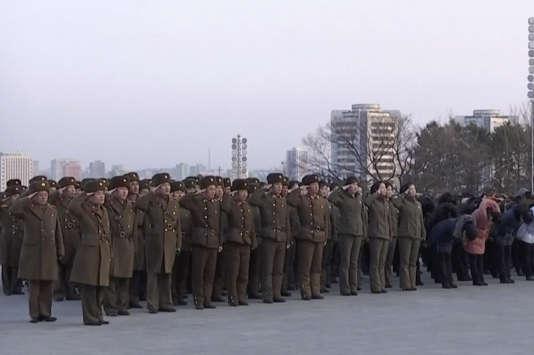 A Pyongyang, le 8 février.