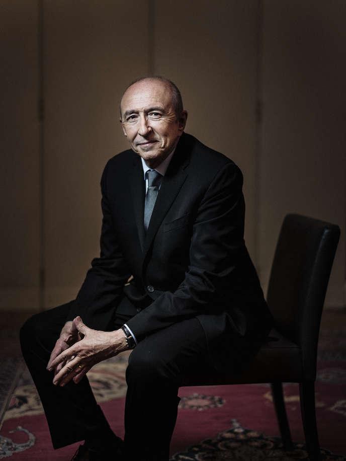 Gérard Collomb, ministre de l'intérieur, le 2 février à Paris.
