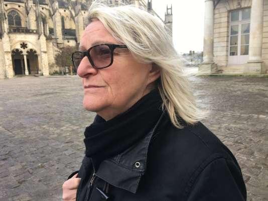 Corinne Dadat, 55 ans, est femme de ménage à Bourges (Cher).