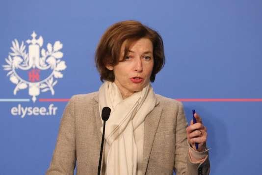 La ministre des armées, Florence Parly, le 8 février.