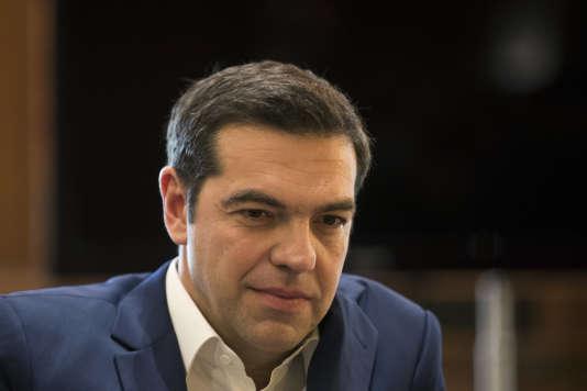 Le premier ministre grec, Alexis Tsipras, à Athènes, le 8 février.