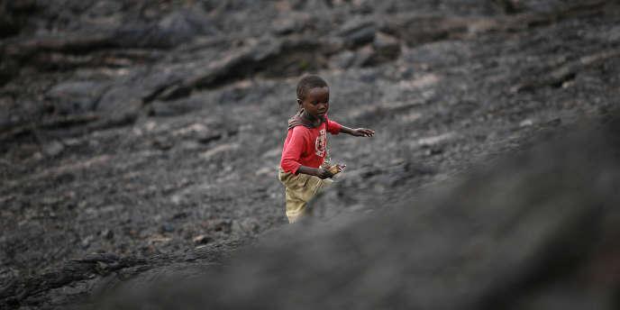 Sur le flanc du volcan Nyiragongo, à Goma, en République démocratique du Congo, en 2006.