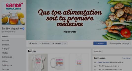 Santeplusmag.com est le site identifié comme diffusant de fausses informations le plus lu en France, selon une étude de l'institut Reuters.