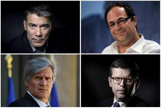 Les quatre candidats à la tête du PS, Olivier Faure,Emmanuel Maurel, Stéphane Le Foll et Luc Carvounas, vont débattreà la télévision, le 7 mars.