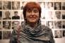 L'artiste autrichienne VALIE EXPORT en 2013.